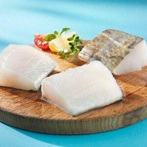 Lomo de bacalao congelado
